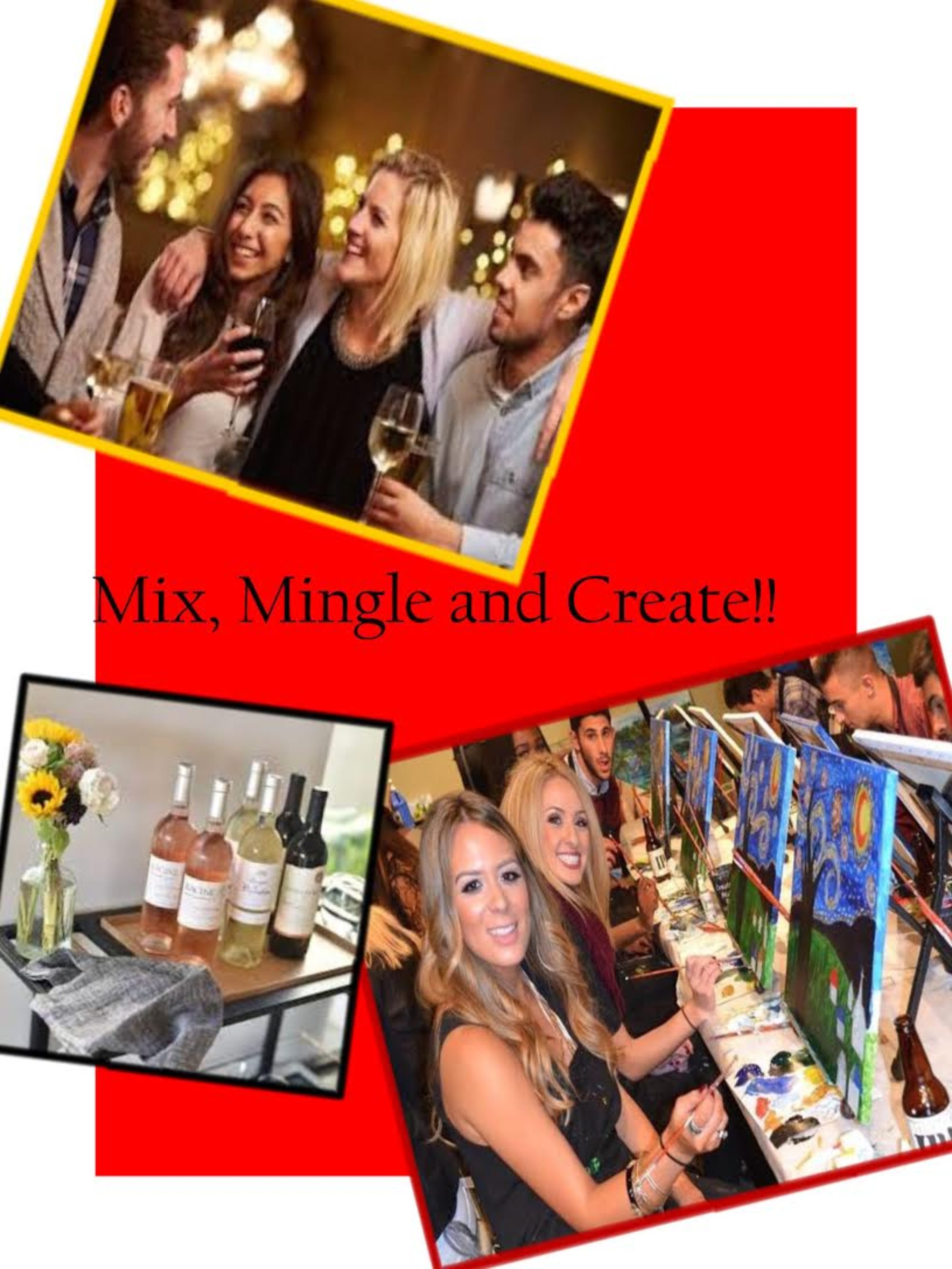 Sip and Paint in Albuquerque, Wine Down with Art