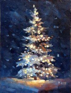 PUBLIC EVENT Holiday Winter Tree painting Celebration!