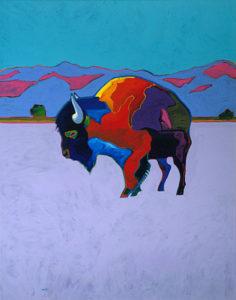 Public Painting Event-Snow Buffalo