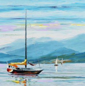 Virtual Art Class- Winter Sailing